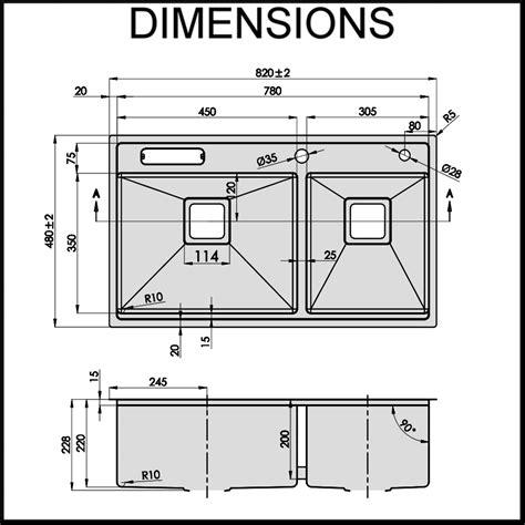 Kitchen Sink Dimensions Standard Size Kitchen Sink Average