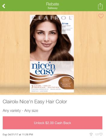 clairol hair color clearance pay     super