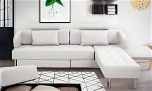 mobilier et canapes deals bons plans et promotions With tapis exterieur avec canapé d angle droit convertible 5 places eternity