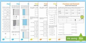 Year 4 Fractions  Tenths And Hundredths  With Adult