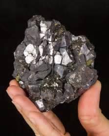 Silver Shiny Rock Identification