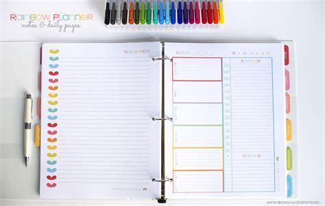 rainbow planner core kit