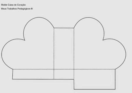 molde de caixinha de papel de diversos formatos bela feliz