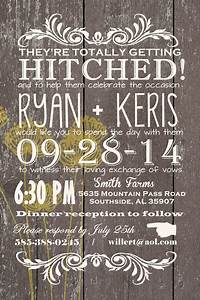 custom western wedding invitation wedding invitations barn With western wedding invitations etsy