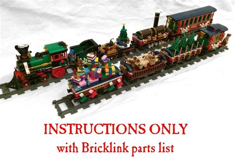instructions   lego custom christmas cars