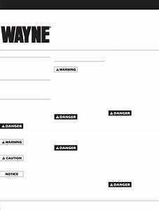 Wayne Water Pump T50s10