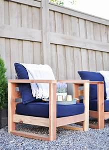 Diy, Modern, Outdoor, Chair, Free, Plans