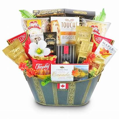 Gift Baskets Basket Gourmet Canada Shipping United