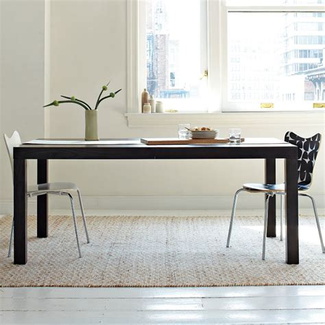 west elm parsons desk dining table west elm parsons dining table