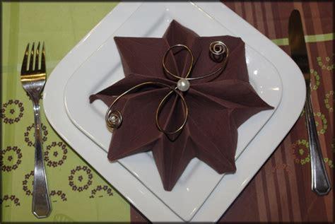 ft pliage de serviette noel 2010 origami pliage de serviette noel pliage de