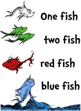 fish  fish red fish blue fish dr seuss childrens