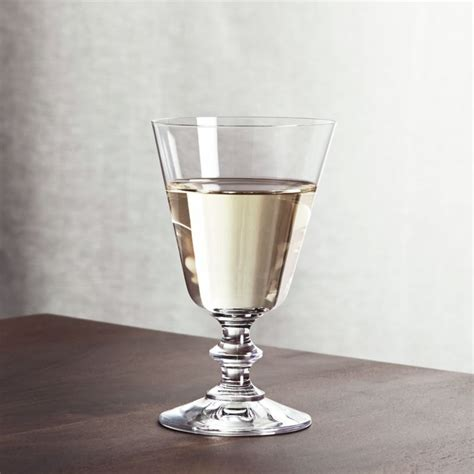 french wine glass reviews crate  barrel