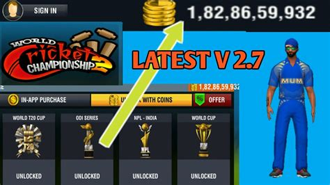 wcc2 mod apk download game with get unlimited coins everything unlocked hack world cricket