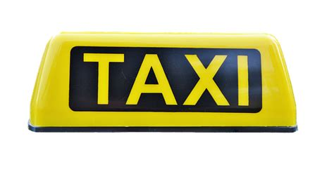 photo information sign taxi sign taxi shield note