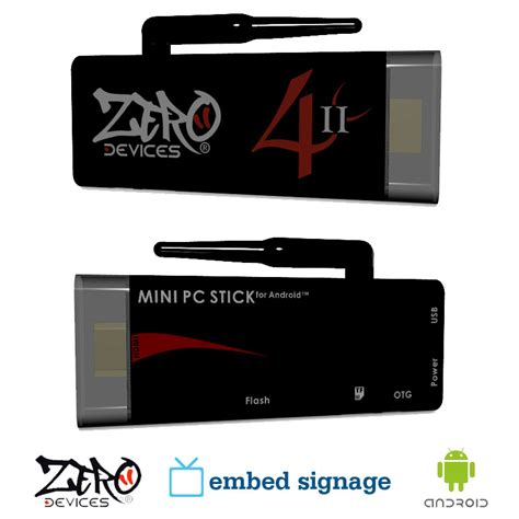 android media player device zero devices z4c ii embed signage player android digital