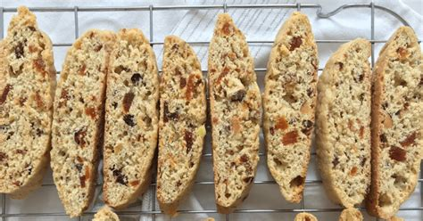 Turn biscotti over and bake 5 minutes longer. Cranberry Apricot Biscotti : Almond Apricot Biscotti ...