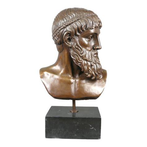 Bronze Statue Bust Of Zeus Sculptures