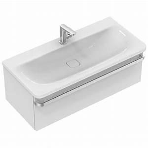 Waschtisch Mit Unterschrank 100 Cm : ideal standard tonic ii waschtisch unterschrank 100 cm r4304wg megabad ~ Markanthonyermac.com Haus und Dekorationen