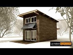 Maison Bioclimatique Passive : la maison kokoon bioclimatique cologique passive construction ossature bois youtube ~ Melissatoandfro.com Idées de Décoration