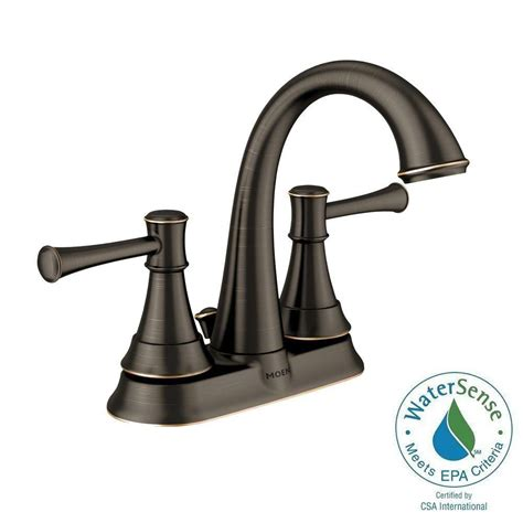Moen Ashville Sink Faucet by Moen Ashville 2 Handle Lavatory Faucet With Microban