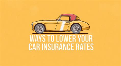 4 Easy Ways To Lower Your Car Insurance Rates Immediately