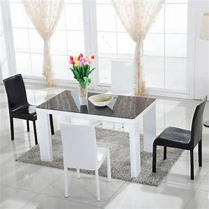 Table blanche fly amazing p table console extensible fly for Salle a manger fly