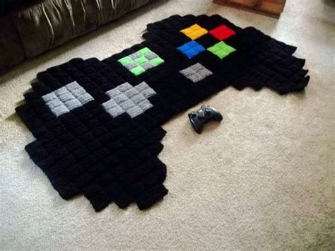 Pixelated Gamer Rugs Videos Boyfriends And Blankets