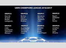 Sorteo de la Champions League y fechas de enfrentamientos