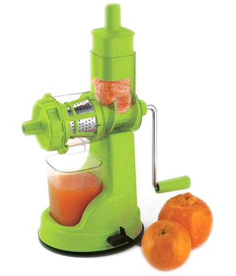 juicer fruit vegetable floraware hand steel juicers colour juice handel handle options kitchen shopclues shopping hard india