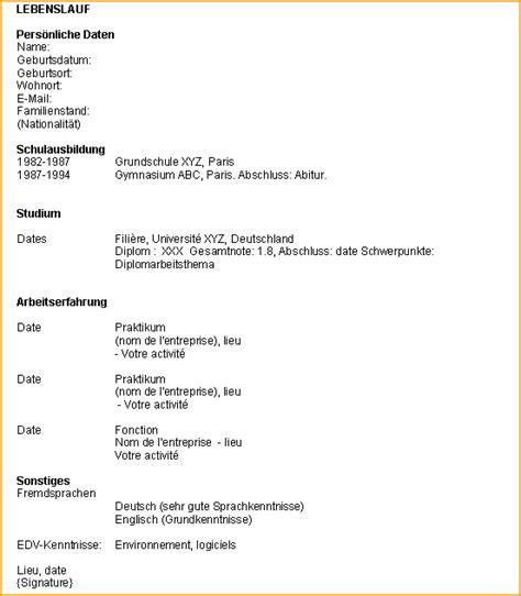 Etablir Un Cv by Etablir Un Cv Modele Des Exemples De Cv Lusocarrelage