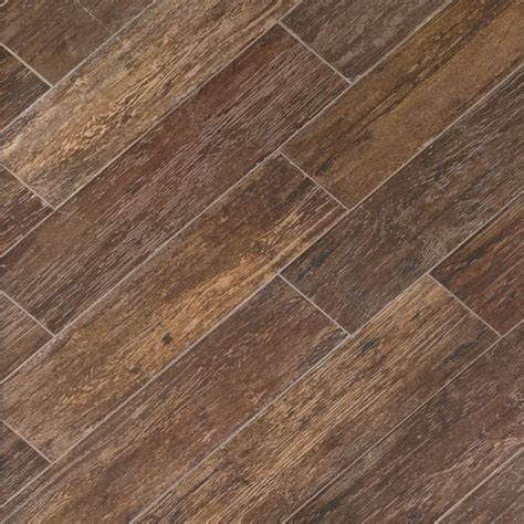 discount porcelain tile wood look wholesale tile havana tobacco brown wood look tile 6x24 1st quality porcelain tile