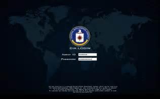 CIA Login Screen Screensaver
