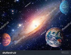 Astrology Astronomy Earth Outer Space Solar Stock Foto ...