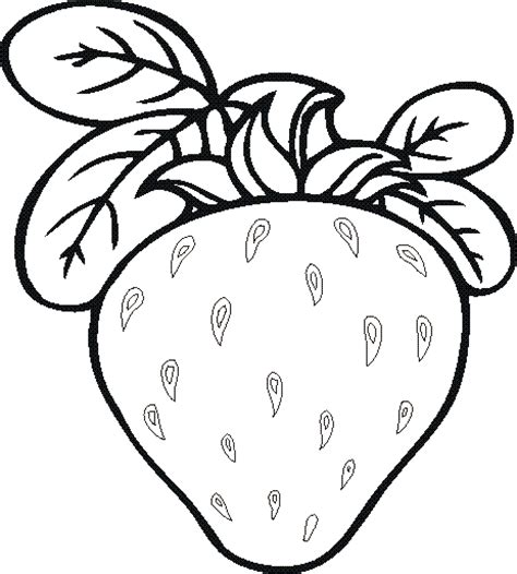 Colouring Pages Fruits And Vegetables