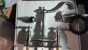 Pegasus Glacier Bay Lyndhurst Bridge Kitchen Faucet Parts