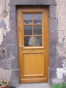porte d39entree With porte d entrée alu avec fabrication meuble salle de bain bois