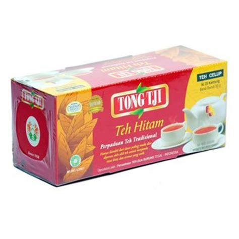 Tong Tji Tea Black Celup 50 Gr tongtji teh hitam celup 50 gram tong tji tea bags