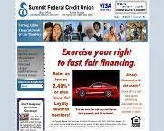 fresh start checking  summit federal credit union