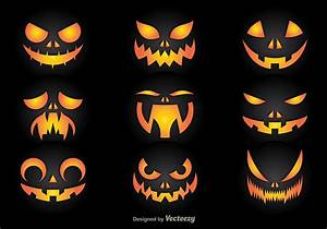 Pumpkin, Faces, 96450, Vector, Art, At, Vecteezy