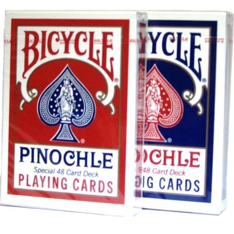 deck pinochle 6 decks of bicycle pinochle cards