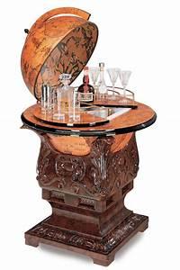 Bar Globe Terrestre : meuble bar r frig rateur globe terrestre poseidon vintage steampunk japan attitude deco0184 ~ Teatrodelosmanantiales.com Idées de Décoration
