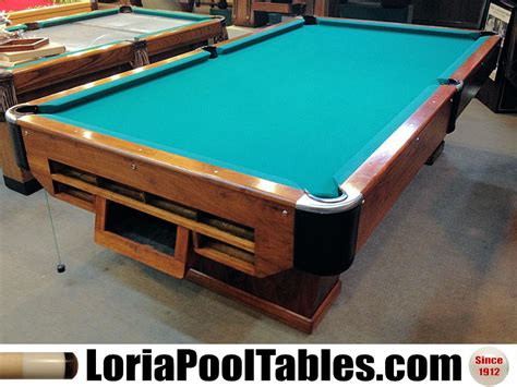 Soldpreowned Loria Deluxe Pedestal 9ft Regulation Pool. Chairside Tables With Drawers. Flip Down Desk. Table With Outlets. Lowes Picnic Table. Folding Table Hinges. Ikea Stockholm Dining Table. Dining Room Table Bench. Keyboard Mount For Desk