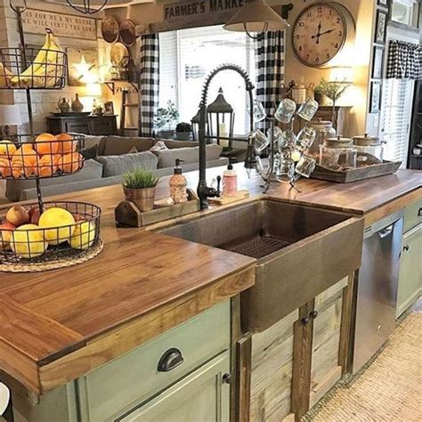 Country Decorating Ideas For The Kitchen by Best 25 Country Kitchen Decorating Ideas On
