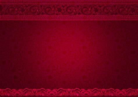 gambar berbunga ceria ornamen ungu berwarna merah