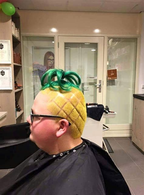 They Said I Could Become Anything. So I Became A Pineapple