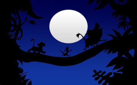 Illustration, Silhouette, Moon, Cartoon