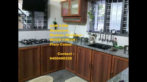 kitchen cabinets kerala price thrissur low cost kitchen cabinets interiors ph 6170