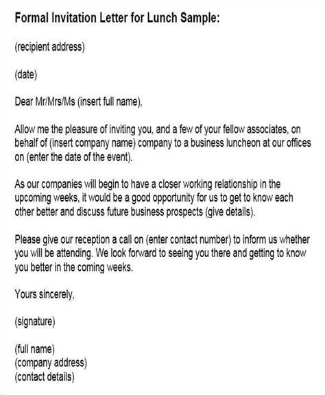 invitation letter templates   google docs