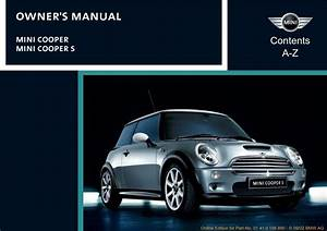 Mini Cooper 2003 Owner U0026 39 S Manual
