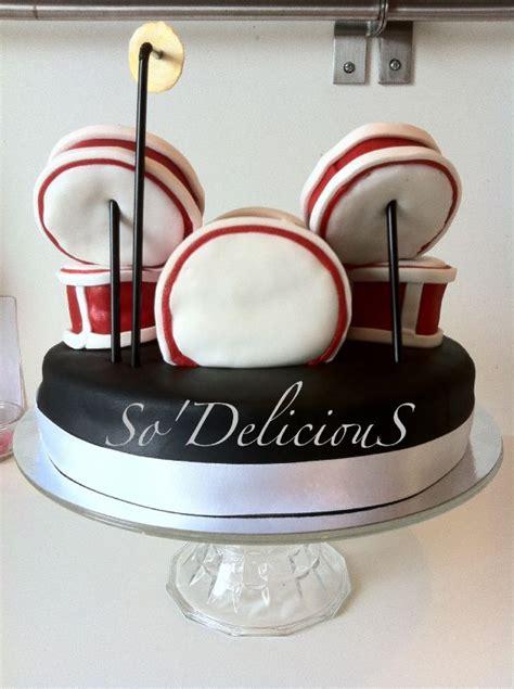 passionné de cuisine gâteau quot batterie quot photo de mes gâteaux en 3d so